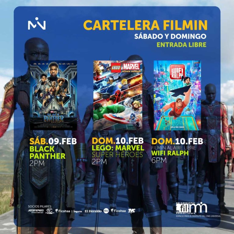 filmin - sab.09 y do.10 feb, entrada libre