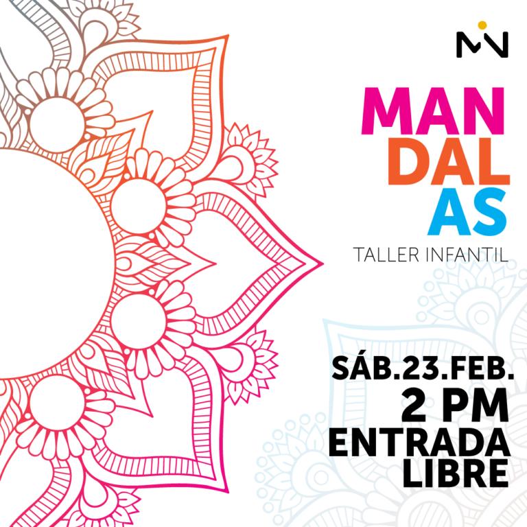 Taller Infantil Mandalas - sáb.23.feb - 2pm - entrada libre